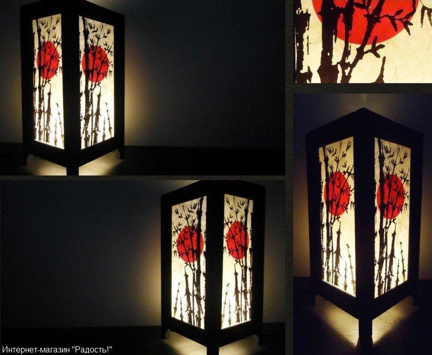 Светильники японские своими руками