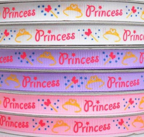 9.63: Набор из рельефных ленточек трёх цветов для подарка маленькой принцессе. Ширина ленточек - 1 см, длина - 540 см