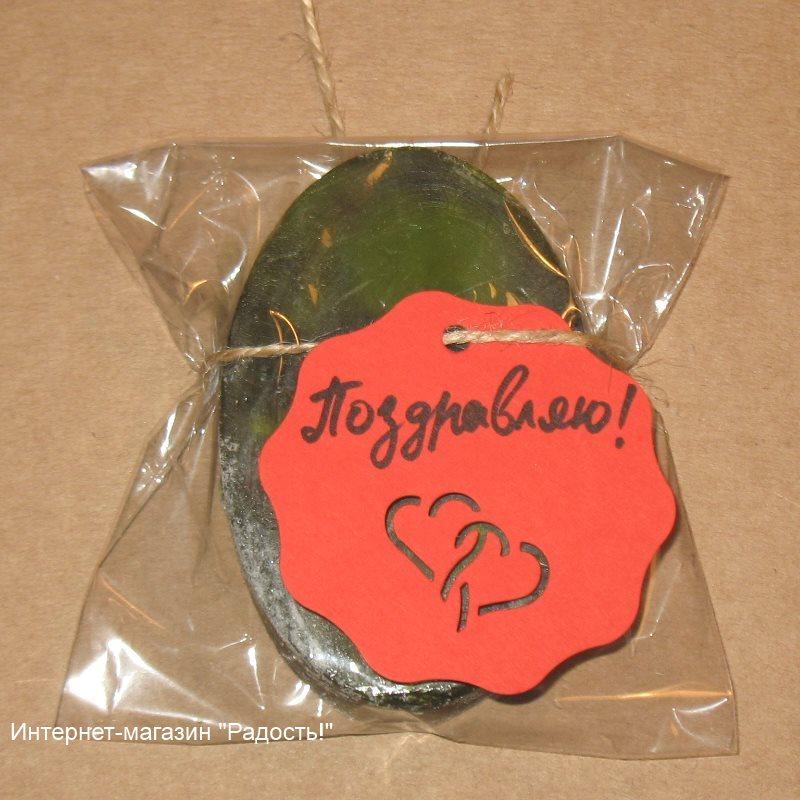 фото: упаковка для мыла ручной работы: пакет целлофановый 10х11 см, с мини-этикеткой