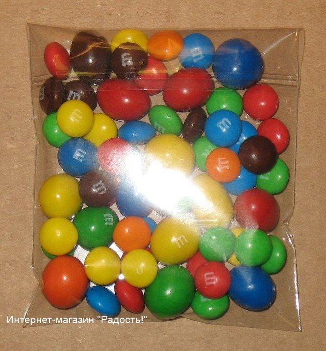фото: прозрачный пакет из целлофана, для упаковки товара, с липучкой