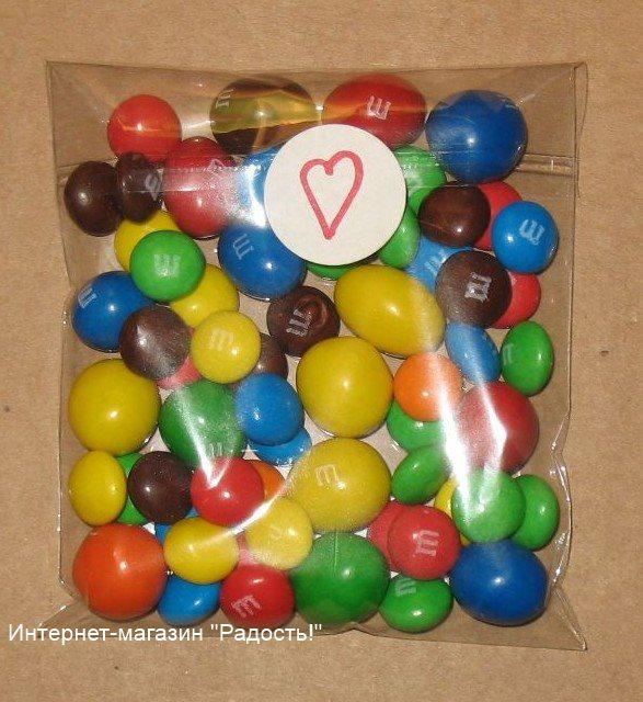 фото: целлофановые пакетики с липучкой, со стикером