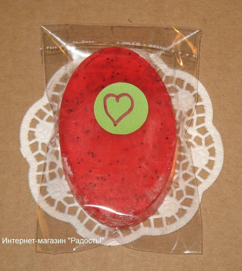 упаковка для мыла ручной работы из целлофановго пакетика 8х11 см, фото
