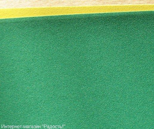 зелёный бархатный картон
