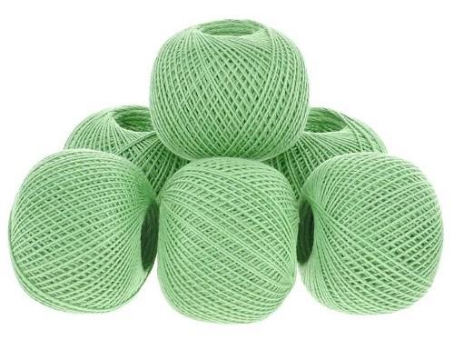 зелёные фисташковые завязанные нитки