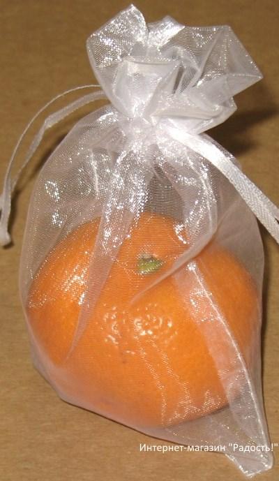 фото: белые мешки из органзы / интернет-магазин Радость