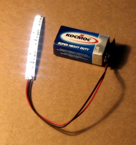 светодиодная подсветка для китайских подвесных бумажных фонариков с клеевым креплением внурть фонарика