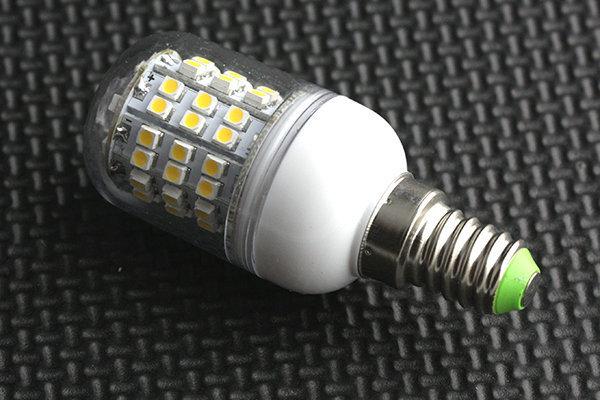 Светодиодная лампа 3 Вт, миньон, белая