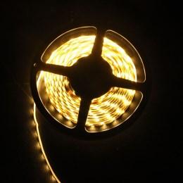 внешний вид: светодиодная лента 500 см, белый мягкий свет
