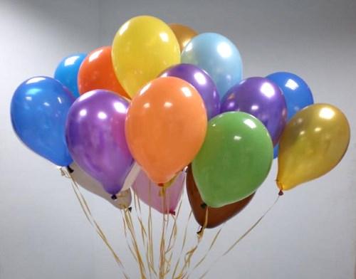 Воздушные шарики для оформления помещения, 20-25 см