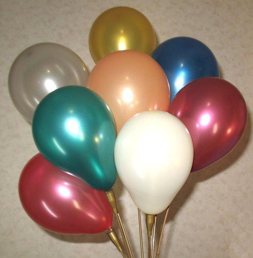 49. Миниатюрные милые воздушные шарики размером всего до 12 см