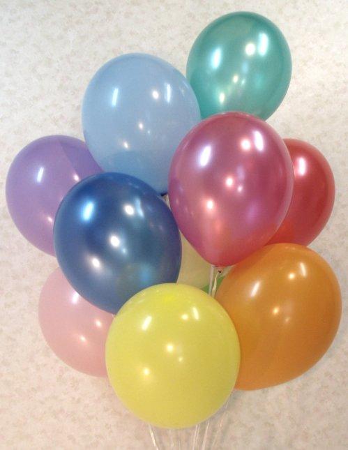 воздушные шарики размер 25 см