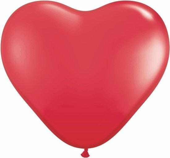 Воздушные шары в форме сердца «Маленькое сердце», размер до 15 см