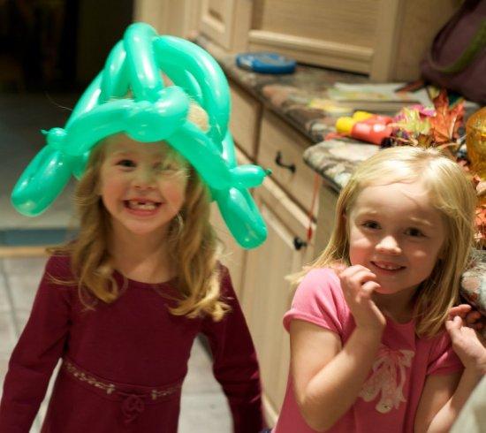 Воздушная корона для юной леди из ШДМ