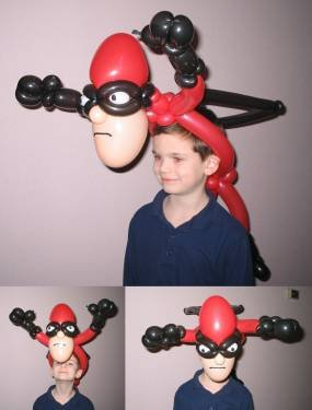 Супермэн-маска из ШДМ