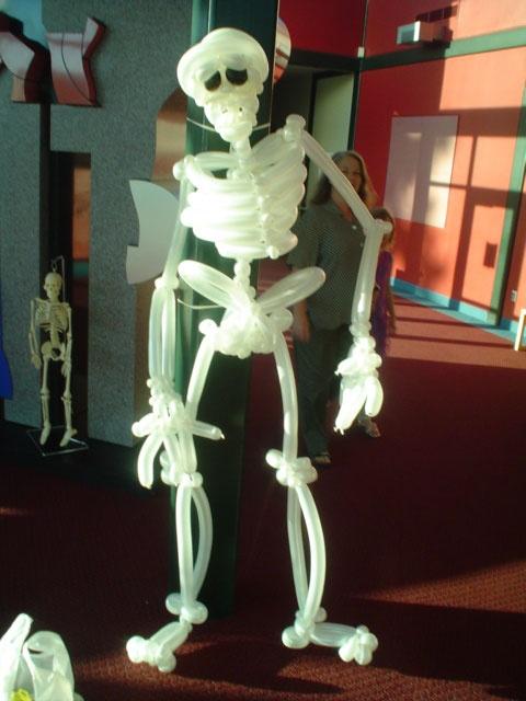 Скелет из ШДМ